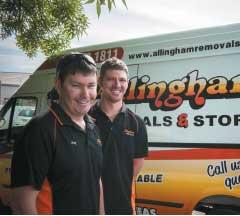 allinghams removals staff